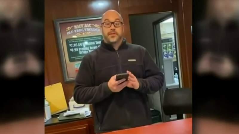 Mackinaw City hotel employee fired following viral video