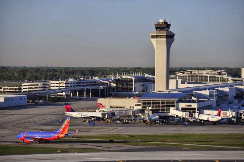The McNamara Terminal at Detroit Metro Airport