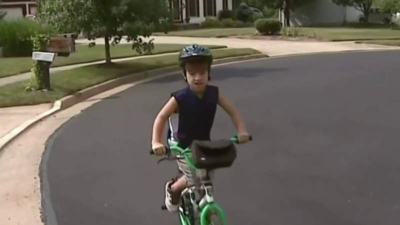 Metro Detroit girl reminds people to wear a helmet after traumatic bike incident