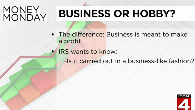 Money Monday: Business or hobby?