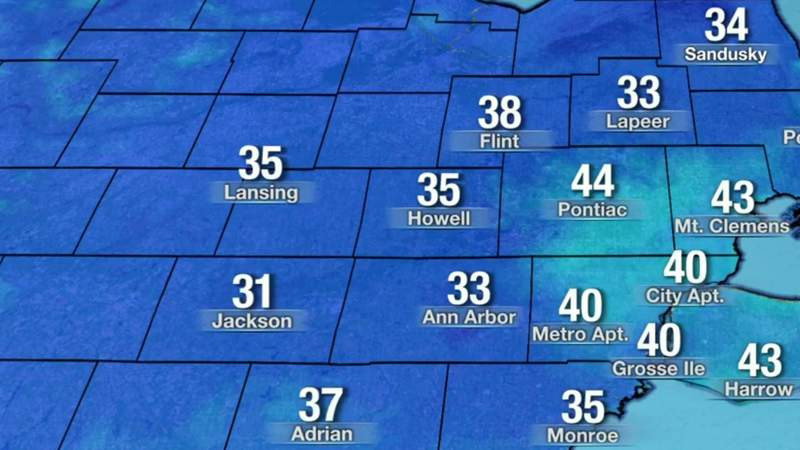 Metro Detroit weather: Chilly Easter morning, warm in the afternoon with sunshine