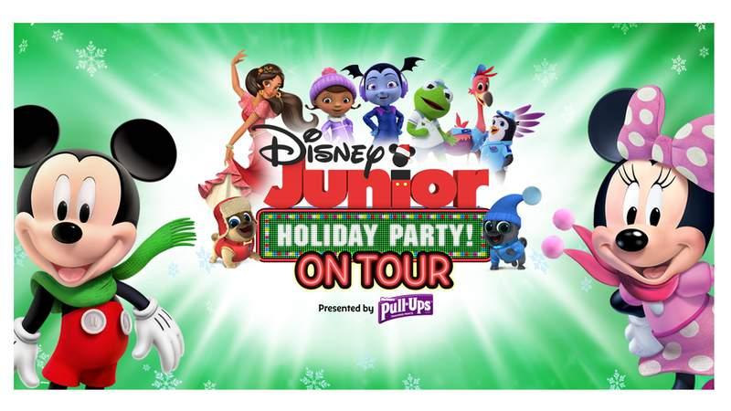 disney jr holiday party