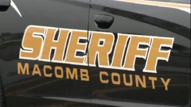 Macomb County Sheriff's vehicle