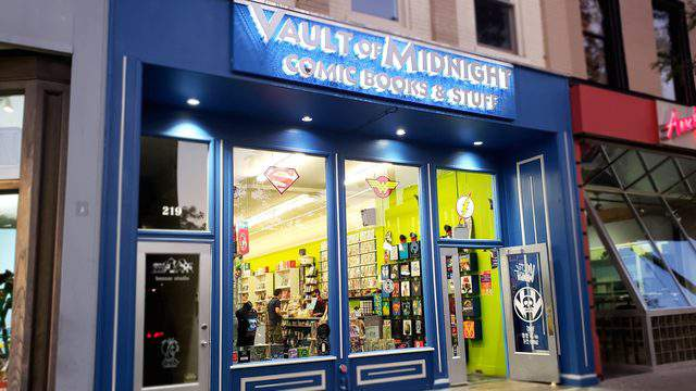 Vault of Midnight is at 219 S Main St in downtown Ann Arbor.  Photo | Sarah M. Parlette