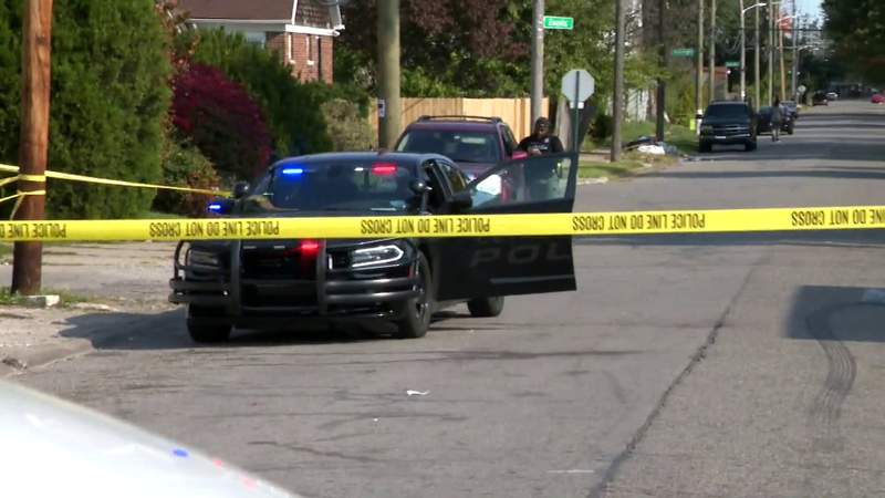 Detroit police investigating a fatal hit-and-run on Oct. 9, 2020.