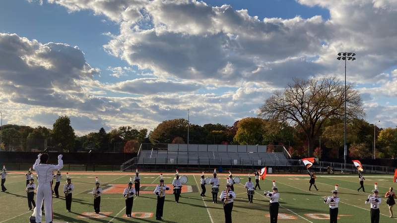 Dearborn High's Marching Band