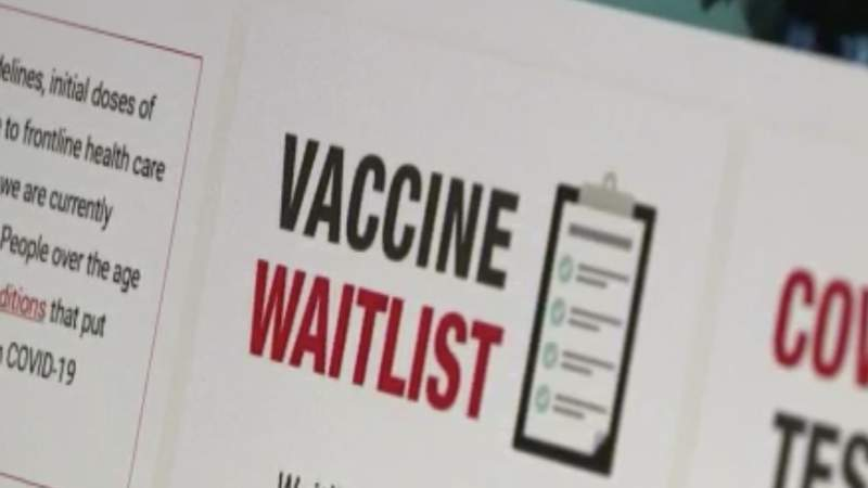 Galveston County opens COVID-19 vaccine waitlist for high-risk people