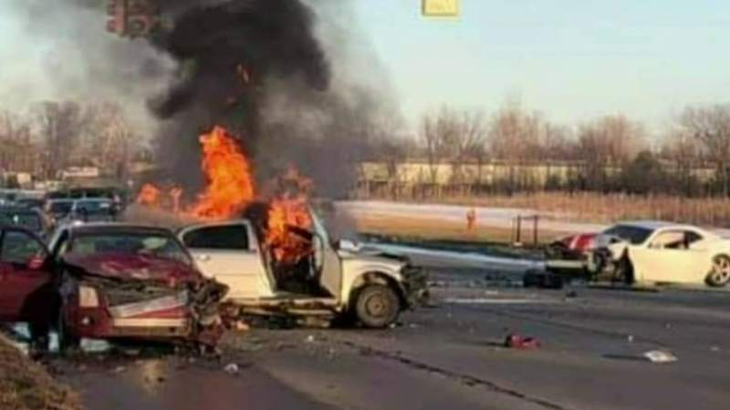 Bystanders jump into action in fiery crash that killed Romulus woman