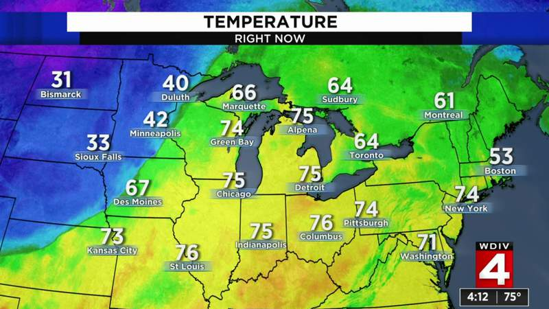 Metro Detroit weather forecast: Nice fall weather this week