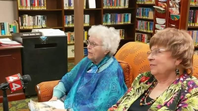 Feeling the funk: Seniors celebrate historic spaceflight