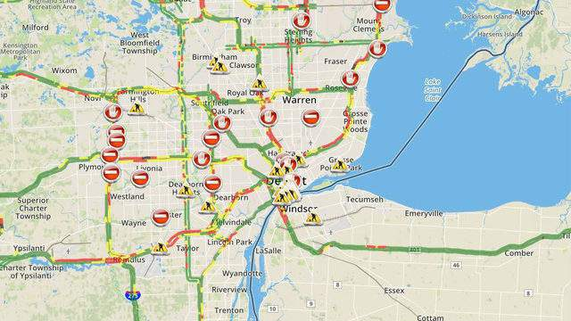 Check Metro Detroit traffic conditions and live map right here on st louis on map, chicago map, michigan map, great lakes map, baltimore map, new york map, quebec map, duluth map, cincinnati map, pittsburgh map, usa map, henry ford hospital map, royal oak map, atlanta map, toronto map, memphis map, las vegas map, united states map, compton map, highland park map,