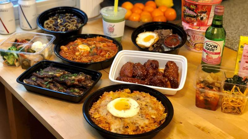 Dine in the D - New Seoul Plaza on Live in the D
