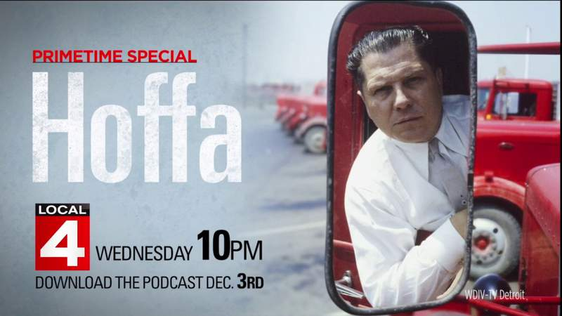 """GF Default - Wednesday - Don't miss the Local 4 Special """"Hoffa"""" at 10PM"""