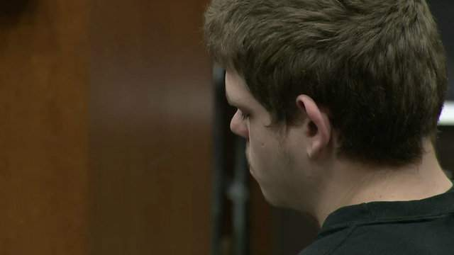 Jeremy Lee at his sentencing.