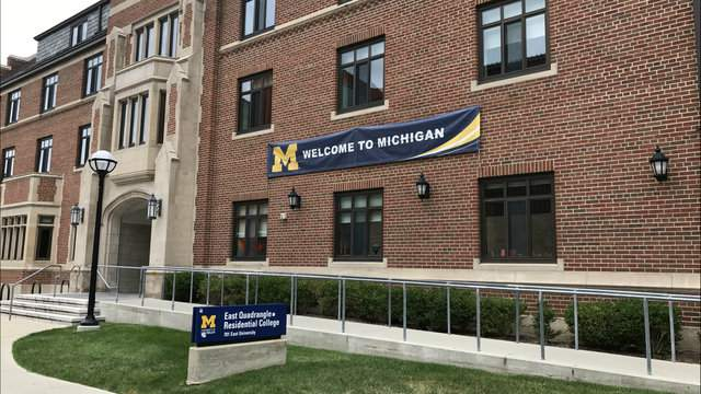East Quadrangle Residential Halls on University of Michigan's campus in Ann Arbor. (Photo: All About Ann Arbor)