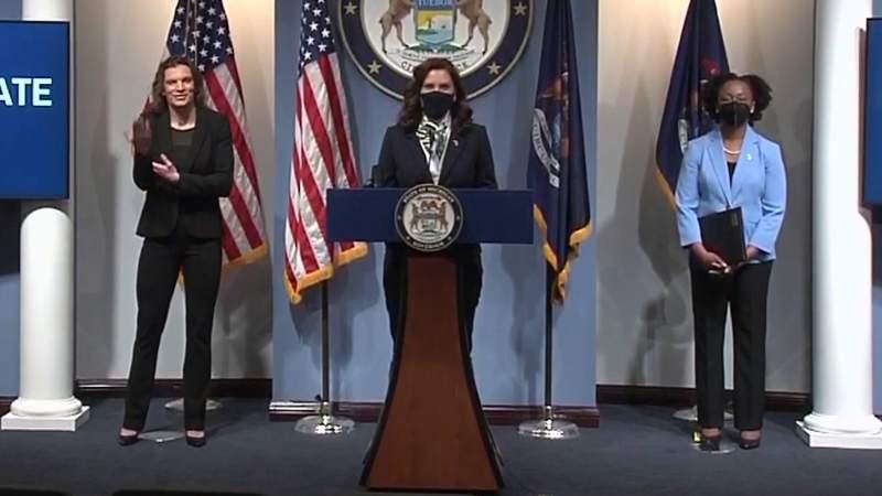Michigan Gov. Gretchen Whitmer's full May 12, 2021, COVID-19 briefing