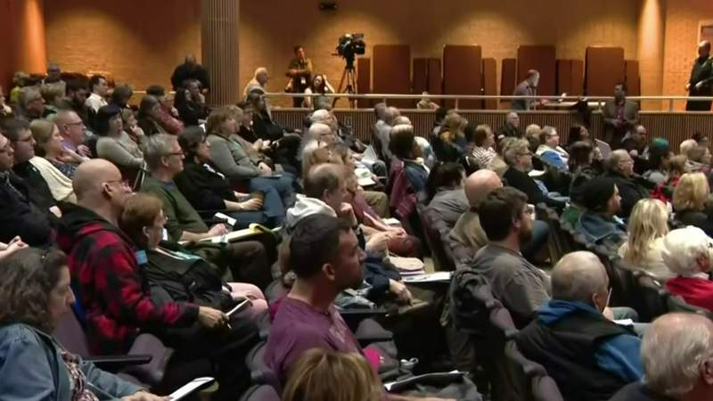 Officials field questions about Madison Heights toxic ooze investigation at public forum