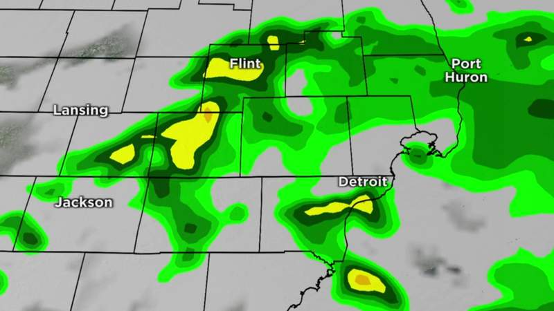 Metro Detroit weather: Rain showers expected overnight, taper off into Thursday morning, June 2, 2021, 11 p.m. update
