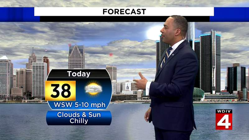 Metro Detroit weather forecast: Highs expected to reach the upper 30s