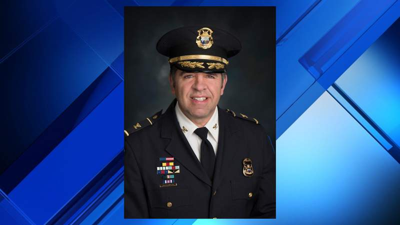 Shelby Township police Chief Robert Shelide