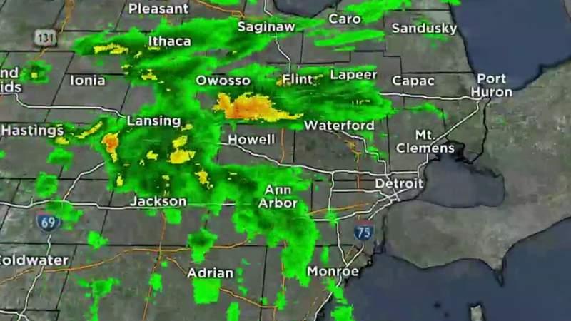 Metro Detroit weather: Few Friday showers before warm weekend, April 30, 2021, noon update