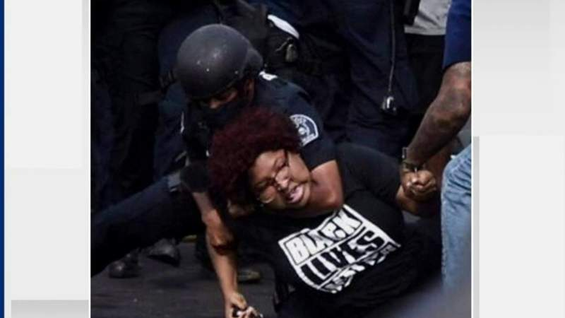 DPD launches investigation into officer's use of a chokehold on protester