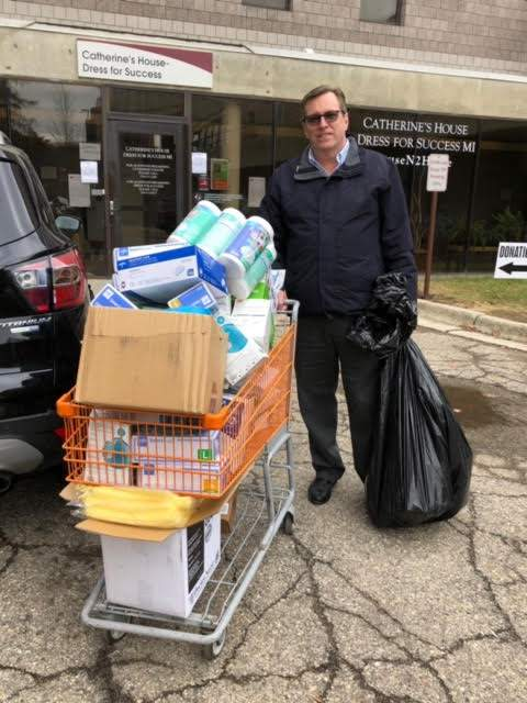 Eastern Michigan University has donated more than 100,000 pieces of medical supplies to hospitals. Donations are still being accepted.