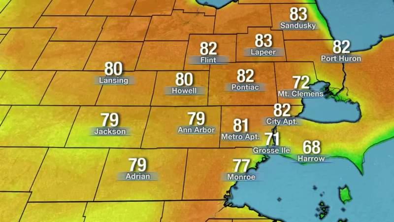Metro Detroit weather: Humid Sunday night, May 24, 2020, 11 p.m. update