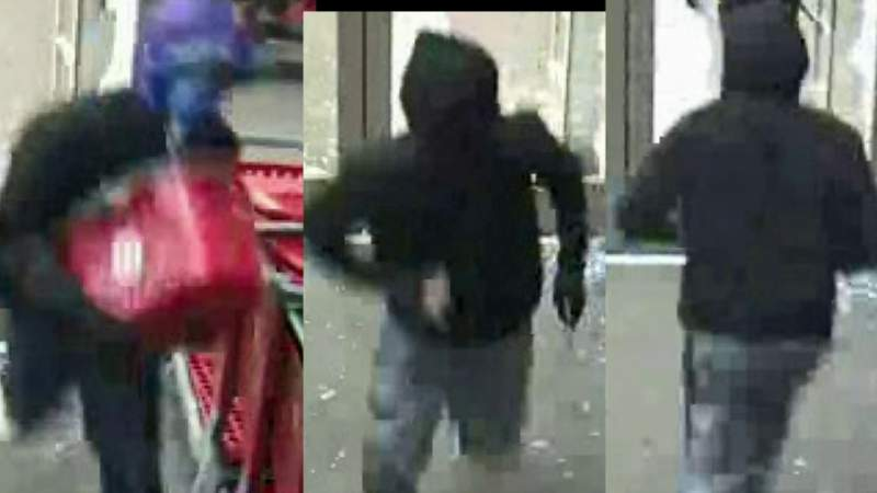Three Target stores hit by thieves