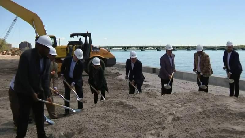 Work begins on final stretch of East Riverwalk Project