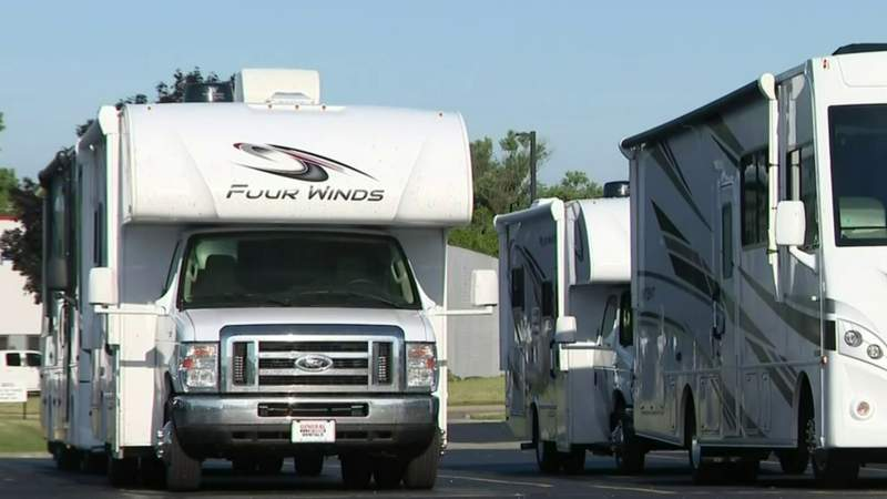RV, camper sales skyrocket in Michigan as families opt to hit the road