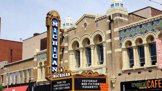 Michigan Theater is located at 603 E. Liberty St.   Photo | Sarah M. Parlette