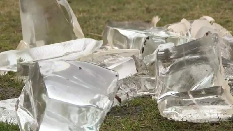 Concerns of melting ice at Plymouth ice festival