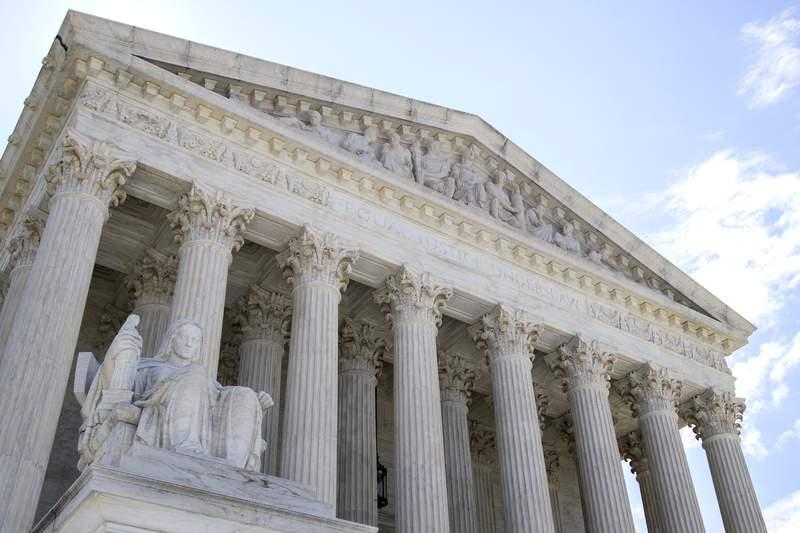 The U.S. Supreme Court is seen Tuesday, June 30, 2020 in Washington. (AP Photo/Manuel Balce Ceneta)
