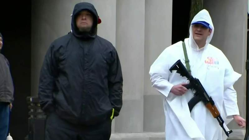 Deadly siege on US Capitol Building reignites gun debate in Michigan
