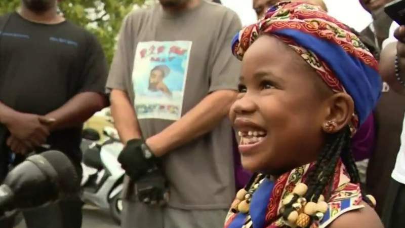 5-year-old girl crowned 'Miss Juneteenth Michigan'