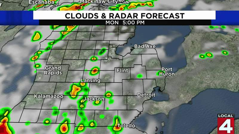 Metro Detroit weather forecast for Aug. 10, 2020 -- morning update