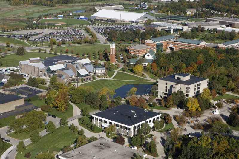 Grand Valley State University campus.