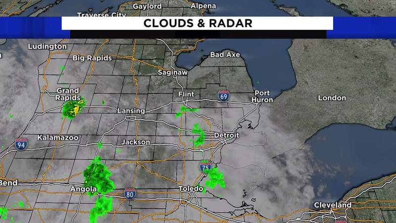 Metro Detroit weather: Warming up with rain for some, June 23, 2021, noon update
