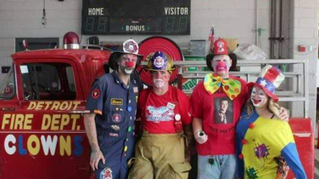 The Detroit Fire Department and its many supporters are rallying on Oct. 7, 2019 around an injured firefighter. (WDIV)