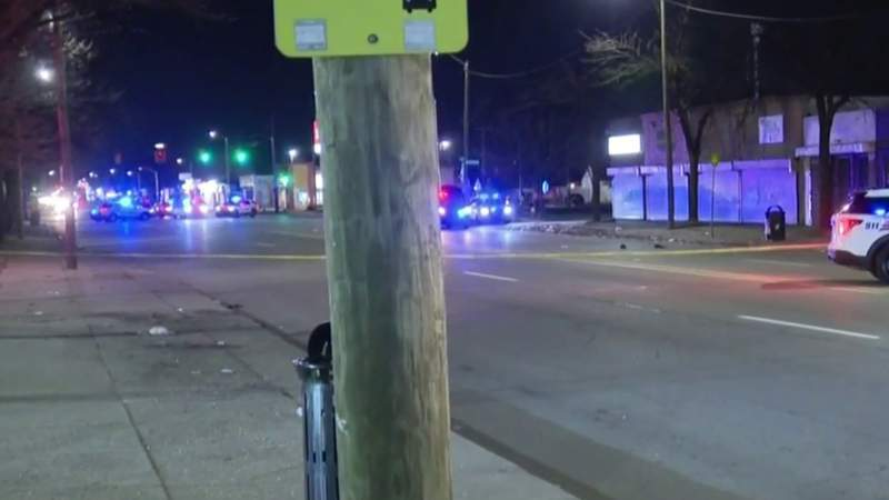 78-year-old man hit and killed crossing street on Detroit's west side