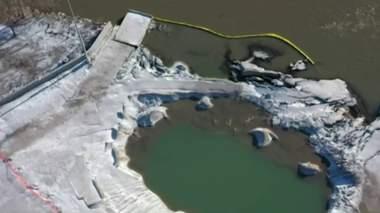 Detroit Bulk Storage river spill: Officials deem containment plans not good enough; water quality checks out