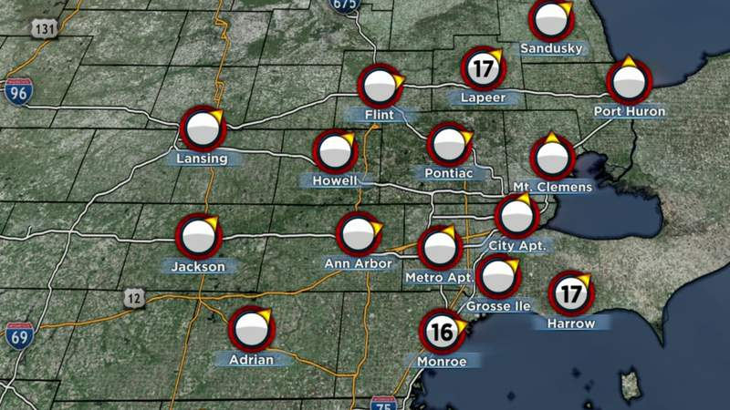 Metro Detroit weather: Record high within reach Thursday, Nov. 5, 2020, noon update
