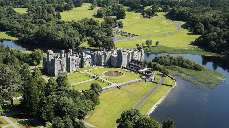 Ashford Castle in Ireland.
