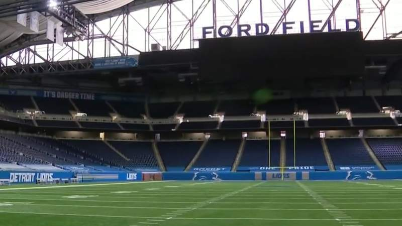 Capacity restrictions lifted for all 2021 Lions games at Ford Field