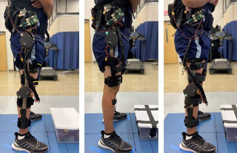 Preliminary knee and hip designs for a new powered exoskeleton system. It attaches motors to off-the-shelf orthotic braces to provide better mobility to the wearer.
