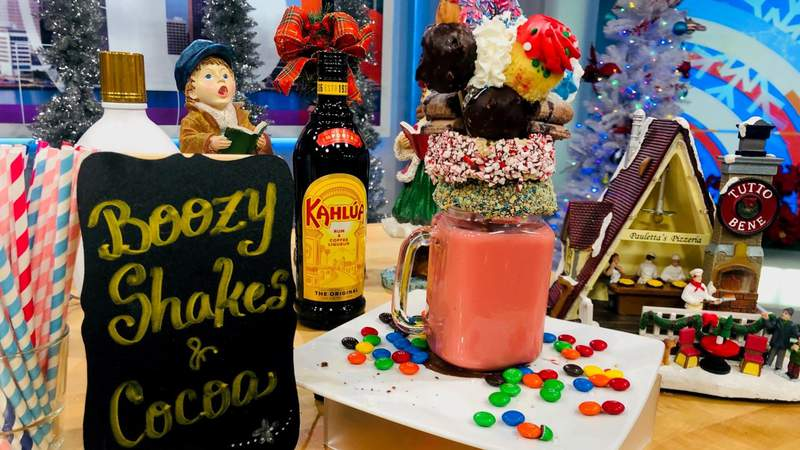 Boozy Shakes & cocoa with Garrido's Bistro on Live in the D