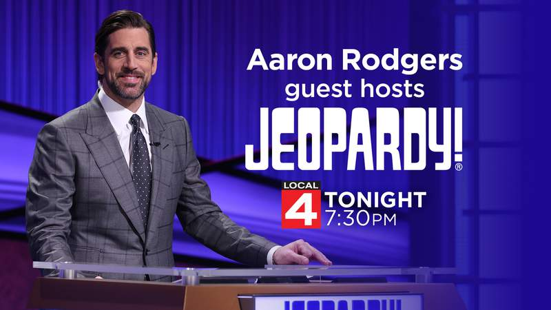 Aaron Rodgers guest hosts Jeopardy!