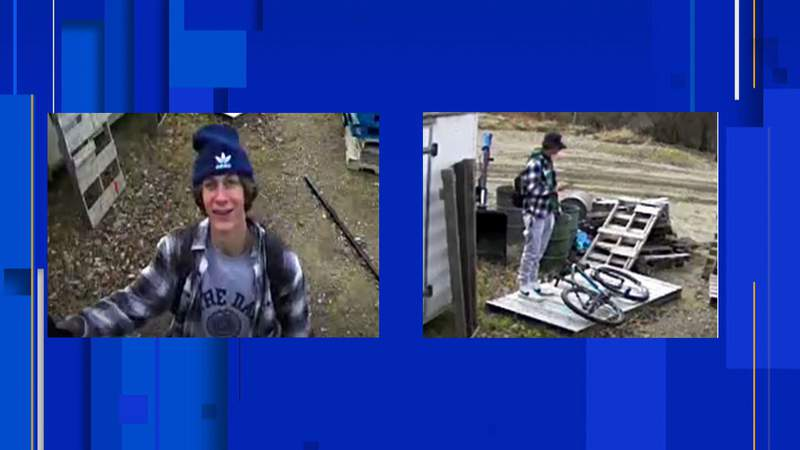 Northville Township police are searching for a person in connection to theft and property damage. Police said the property is owned by the township's Water & Sewer Department.