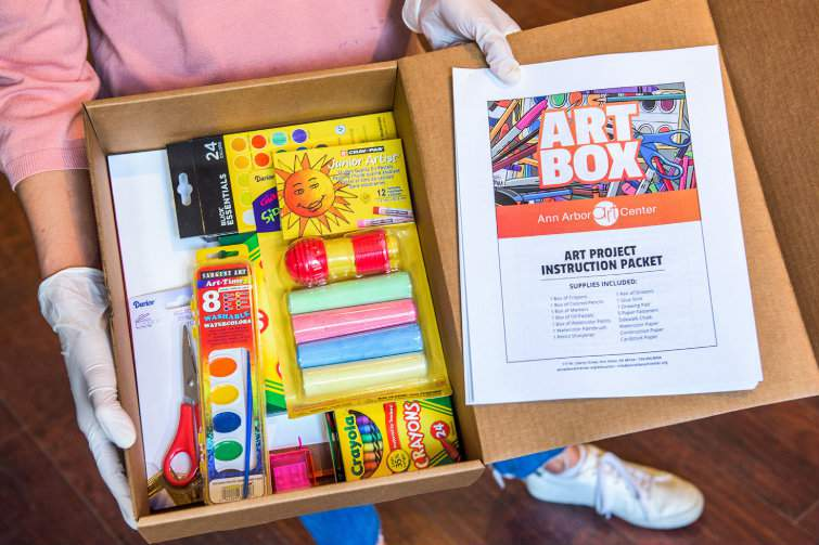 What's included in an ArtBox.
